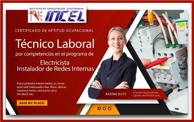 Certificado electricista instalador de redes internas