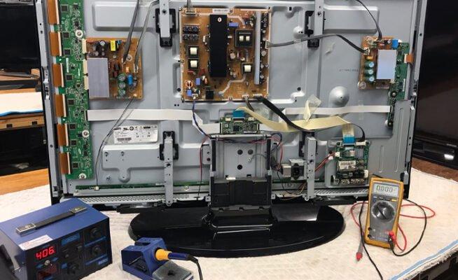 Mantenimiento y reparación de televisores