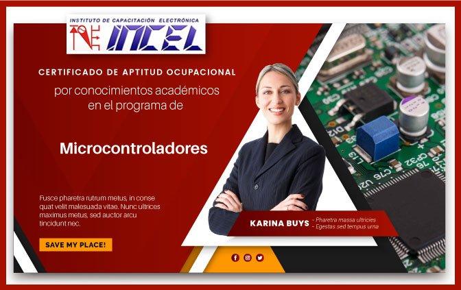 Certificado microcontroladores